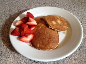 Gluten-Free Banana Oatmeal Pancakes - Running With Perseverance